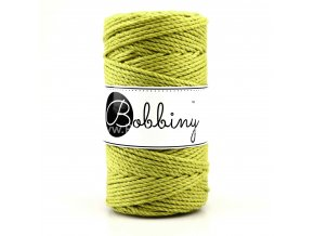Bobbiny 3PLY Macrame  Regular 3 mm Kiwi ( Kiwi )