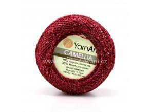 příze Camellia 426 granátově růžová