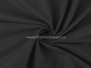Bavlněná látka černá