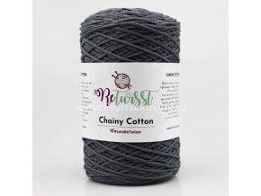 ReTwisst Chainy Cotton 6 tmavě šedá