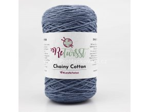 ReTwisst Chainy Cotton 5 modrá jeans