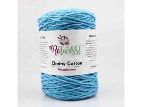 ReTwisst Chainy Cotton 18 modrá tyrkys