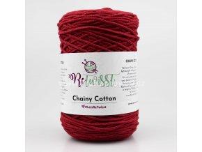 ReTwisst Chainy Cotton 30 vínovo červená