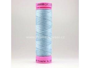 Polyesterová nit 0020 světlá ledově modrá