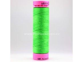 Polyesterová nit 1099 jasně zelená