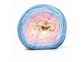 Soft Cake 50019 krémová,růžová,modrá