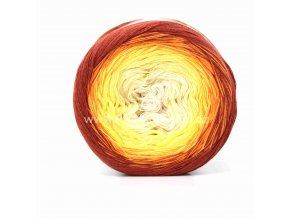 Soft Cake 50003 krémová, žlutá, oranžová