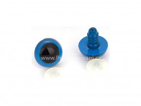 Oči bezpečnostní 16 mm modré