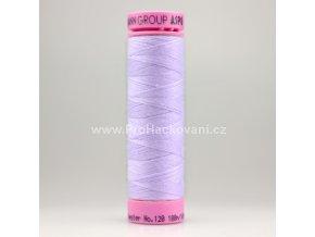 Polyesterová nit 0361 bílo světle fialková