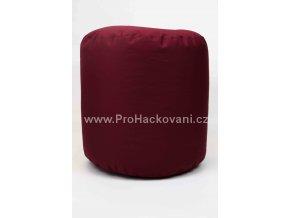 Vnitřní vak do pufu 38x40 cm vínový