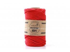 Macrame Rope 4 mm červené
