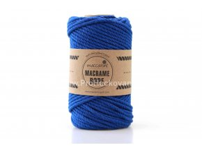 Macrame Rope 4 mm královská modrá