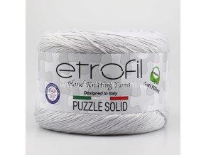 příze Puzzle Solid 015 světle šedá
