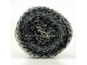 příze Floxy 9949 smetanová, šedá, černá