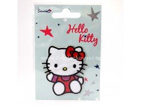 Nažehlovačka Hello Kitty sedící