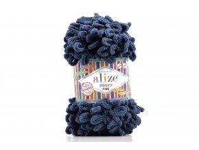 příze Puffy Fine 093 Tmavě modrá