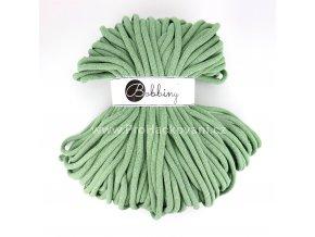 Bobbiny šňůry Jumbo zelený eukalyptus