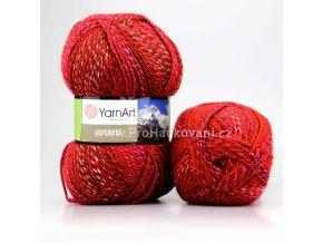 příze Everest 7036 variace červené