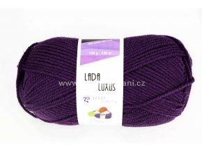 příze Lada Luxus 53793 lilkově fialová