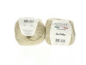 příze Bambino Lux Cotton 70112 světlé lněná