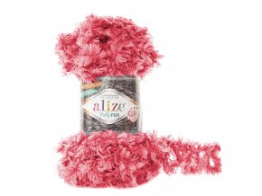 příze Puffy Fur 6115 fuchsiová