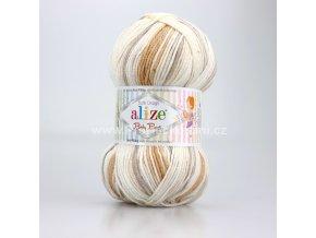příze Baby Best Batik 7541 smetanová, písková, béžová