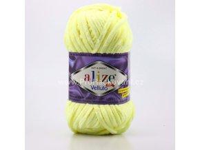 příze Velluto 13 pastelově žlutá