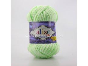 příze Velluto 464 pastelově zelená