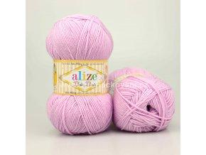 příze Baby Best 27 lila