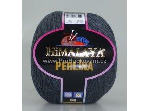 příze Perlina 50111 antracitový melír