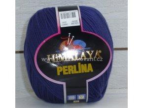 příze Perlina 50147 temně modrá