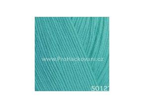 příze Perlina 50127 modrozelená