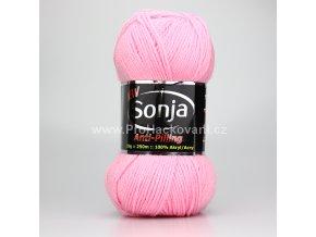 příze Sonja 20 růžová