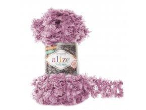 příze Puffy Fur 6103 šeříková