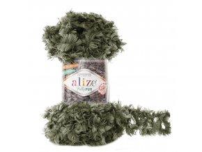 příze Puffy Fur 6117 khaki