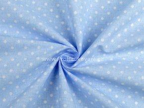 latka puntik 4mm modra