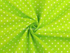 latka puntik 4mm zelena