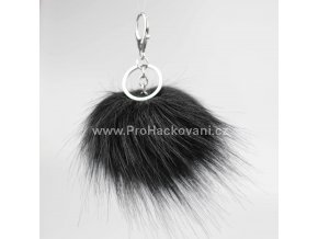 Bambule Exclusive 10 cm se stříbrnou karabinou - Černá50MJ S (4)