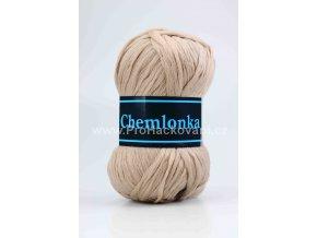 příze Chemlonka 743 hnědobéžová