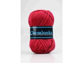 příze Chemlonka 313 tmavě červená