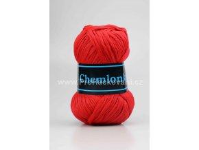 příze Chemlonka 306 jahodově červená