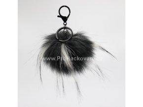 Bambule Exclusive 10 cm s černou karabinou - Černá s bílými konečky81JN M (2)