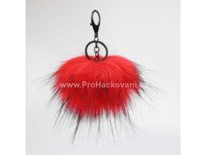 Bambule Exclusive 10 cm s černou karabinou - červená s černými konečky131JEX M (2)
