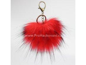 Bambule Exclusive 10 cm s mosaznou karabinou - červená s černými konečky131JEX M (1)