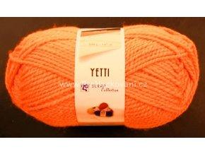příze Yetti 50011 Neon oranžová