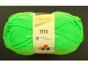 příze Yetti 50012 Neon zelená