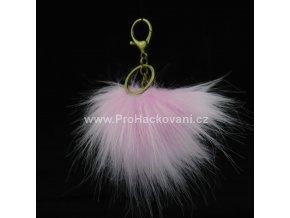 Bambule Exclusive 10 cm s mosaznou karabinou - světle růžová91MJ Č (1)