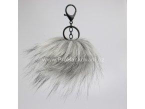 Bambule Exclusive 10 cm s černou karabinou - světle šedá s černými konečky84JEX M (1)