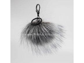 Bambule Exclusive 10 cm s černou karabinou - tmavě šedá s černými konečky84 34 Z (2)