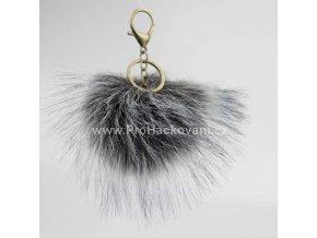Bambule Exclusive 10 cm s mosaznou karabinou - tmavě šedá s černými konečky84 34 Z (3)